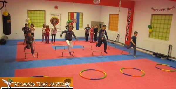 Taekwondo za djecu do 10 godina - mj članarina