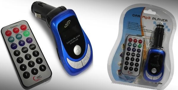 MP3 player za auto s daljinskim upravljačem