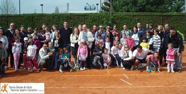 Škola tenisa - mjesečna članarina za djecu