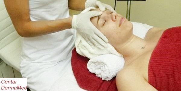 Čišćenje lica uz limfnu drenažu i hranjivu masku