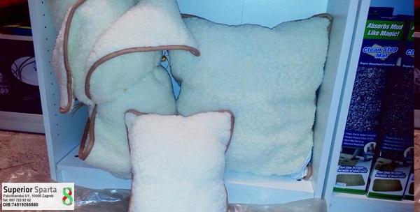 Merino vuna - prekrivač i 2 jastuka