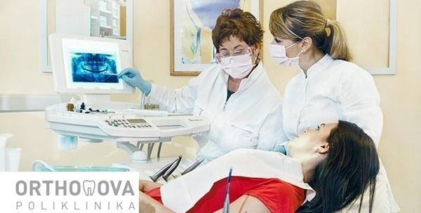 Izbjeljivanje zubi Zoom 2 lampom u Poliklinici Orthonova