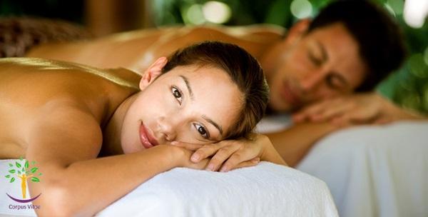 2 masaže cijelog tijela vrućim uljima u trajanju 60 minuta