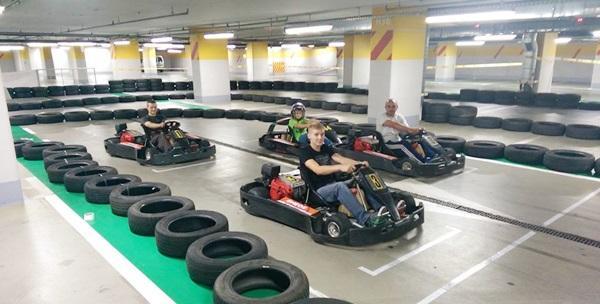 Karting - 10 minuta vožnje za jednu osobu