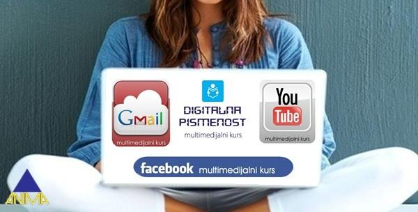 Facebook, Gmail, Youtube i digitalna pismenost -online tečaj