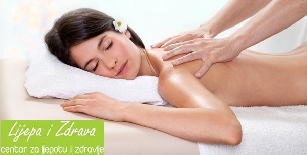 Medicinska masaža cijelog tijela s elementima aromaterapije!
