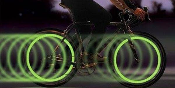 Led svjetleće kapice kotača za bicikle, motore i aute