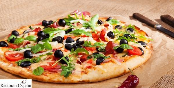 Restoran Cvjetni Z - dvije velike pizze po izboru
