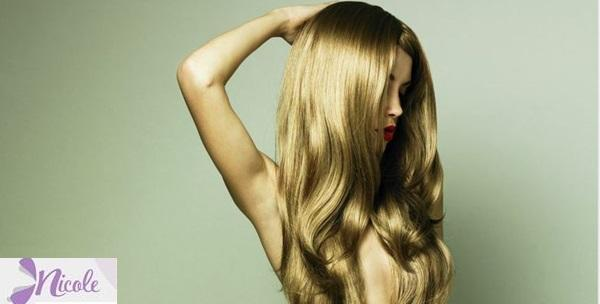Keratinski tretman oštećene kose, šišanje i frizura