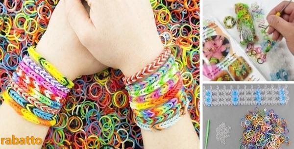 2 seta za izradu Loom Bands nakita - izradite modne dodatke