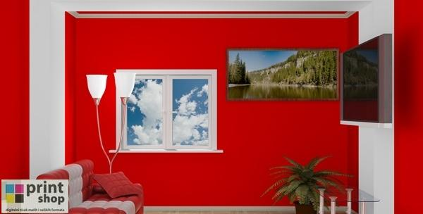 Fotografije na slikarskom platnu raznih dimenzija