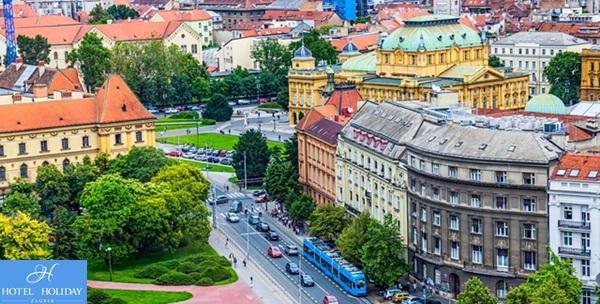 Zagreb - 2 dana s polupansionom za dvoje u Hotelu Holiday***
