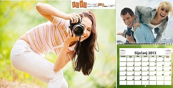 Foto kalendar dizajniran po izboru