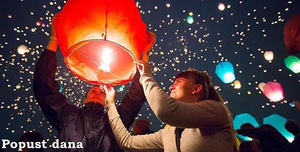 5 lampiona - zaželite želju i pustite lampion u zrak