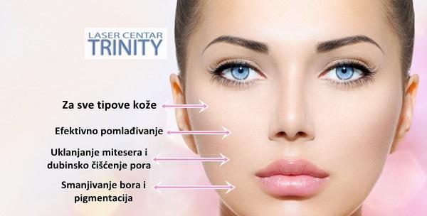 Tretman lica kisikom - pomladite kožu i očistite lice