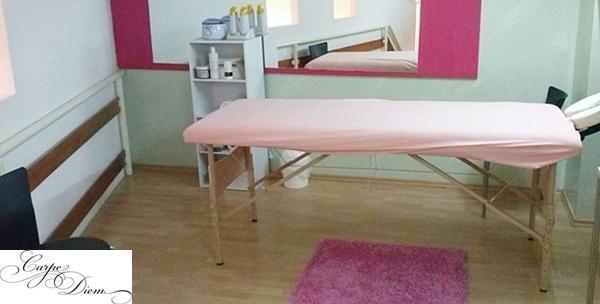 Četveroručna masaža cijelog tijela koju izvode dvije maserke