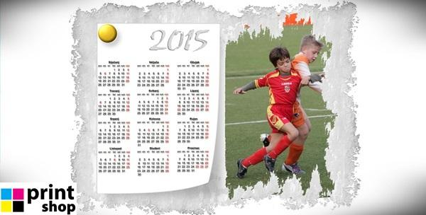 Personalizirani kalendar jednolisni - 1 ili 6 komada