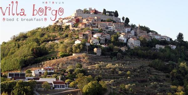 Motovun, Villa Borgo - 4 dana s doručkom, piće dobrodošlice