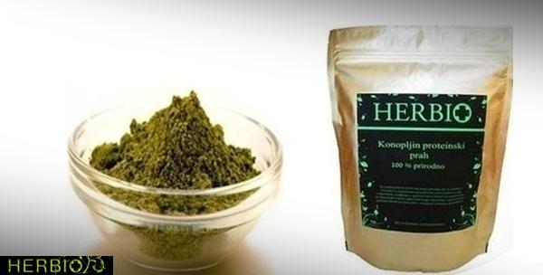 Proteini od konoplje - 1kg  100% prirodni hrvatski proizvod
