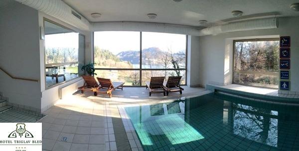 Bled, Hotel Triglav**** - 2 ili 3 dana wellness dana/dvoje