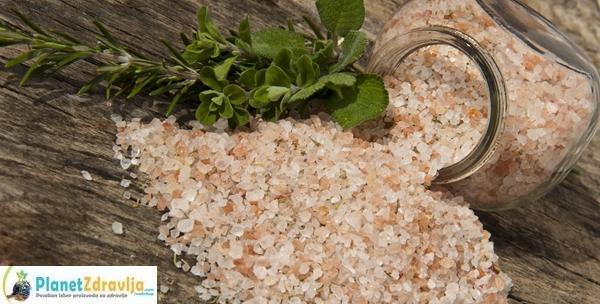 Himalajska sol 3kg –  najkvalitetnija sol na zemlji,  prirodna, nezagađena i bez aditiva za 69kn!