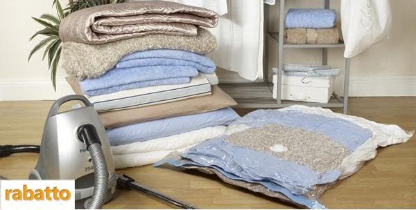 6 vakuum vreća za spremanje odjeće i uštedu prostora