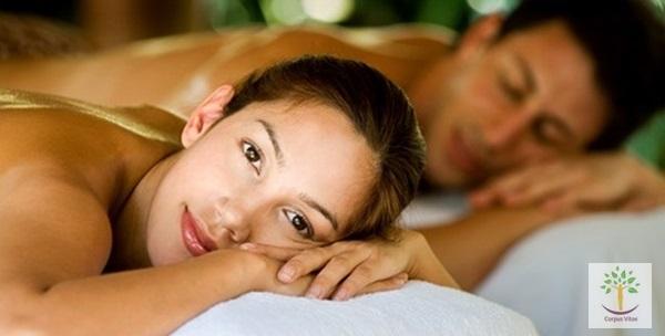 Masaža cijelog tijela vrućim uljima