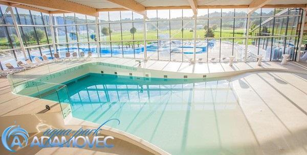 Aquapark Adamovec - cjelodnevna ulaznica za kupanje i ručak