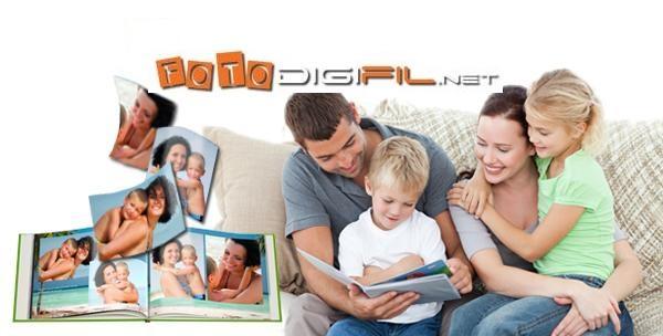 Fotoknjiga - model s tvrdim koricama i 40 stranica i dostava