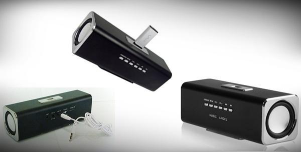 MP3 playerom s ugrađenim zvučnicima, radijom i USB čitačem