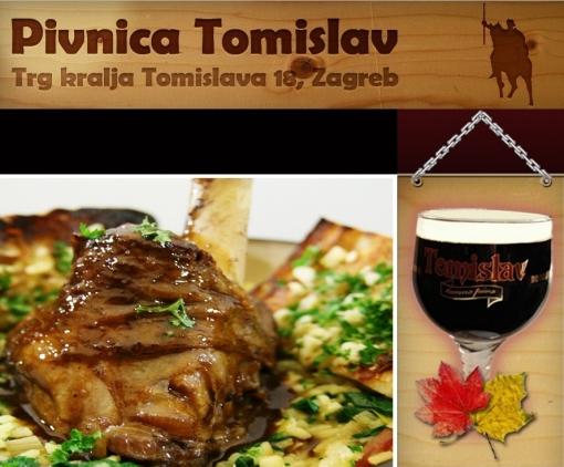 Dva menija i dva pića po izboru za samo 45 kn u vrijednosti od 100 kn - uživajte u ukusnom ručku ili večeri u ugodnom ambijentu Pivnice Tomislav