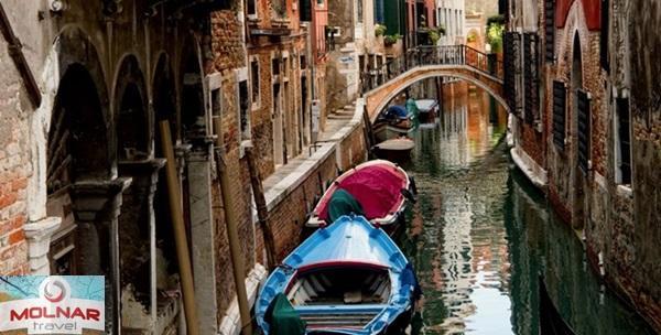 Venecija, jednodnevni izlet uz prijevoz za jednu osobu
