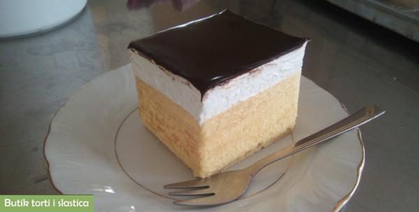 6 kremšnita iz Butika torti i slastica