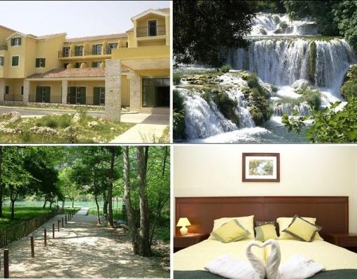 Dva noćenja sa doručkom za dvije osobe za samo 595 kn u hotelu Vrata Krke - uživajte u prekrasnoj prirodi Nacionalnog parka Krke