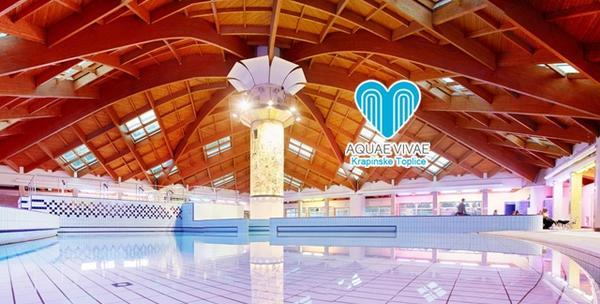 Aquae Vivae, ulaznica za najveći kompleks bazena u Hr