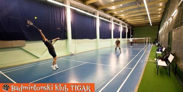 Badminton na Velesajmu za odrasle - mjesec dana i oprema
