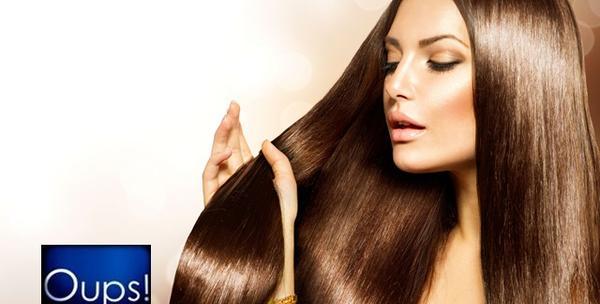 Šišanje, ampula za suhu i oštećenu kosu i fen frizura