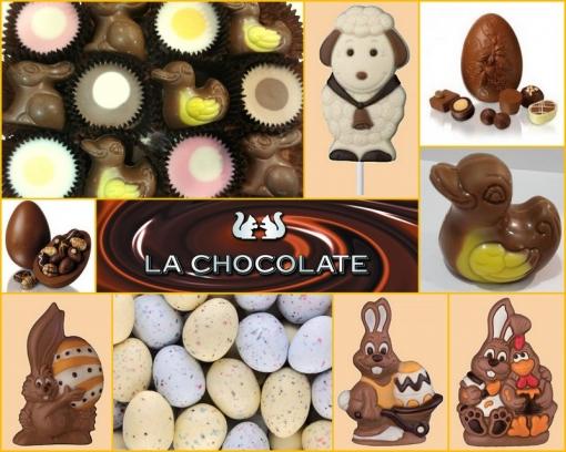 Najfinije praline sa uskrsnim motivima i oblicima i figura zeca za samo 25kn umjesto 50kn - okusite najkvalitetniju belgijsku čokoladu