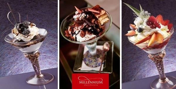 Slastičarnica Millennium - 2 sladoledna kupa po izboru
