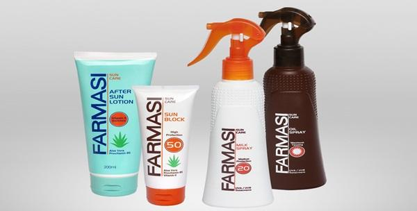 Proizvodi za sunčanje Farmasi - mlijeko SPF, losion, ulje