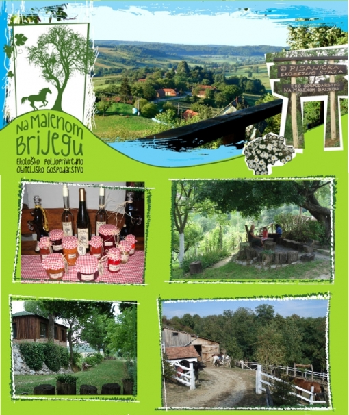 Jednodnevni izlet za dvoje na seoskom imanju, ručak i večera, jahanje ili vožnja konjima u sulkama u srcu Bilogore za 185kn umjesto 490kn