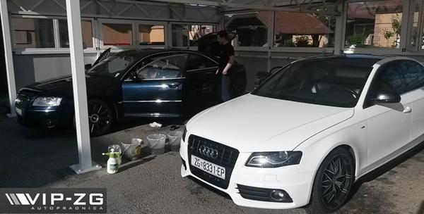 Kemijsko unutarnje čišćenje automobila