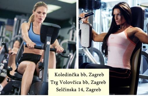 Neograničeno korištenje fitnessa za samo 95kn umjesto 300kn na tri lokacije u fitness centru Viva- Volovčica, Dubrava ili Sesvete