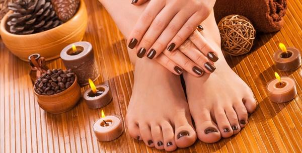 Spa pedikura, piling, masaža stopala i maska uz lakiranje