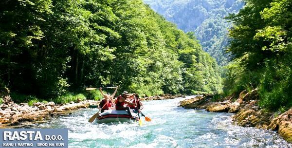 Rafting ili kanu avantura na Kupi