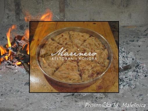Duvanjski burek za 4 osobe za 85kn umjesto 180kn - probajte tradicionalni specijalitet ispod peke u vrhunskom restoranu Marinero