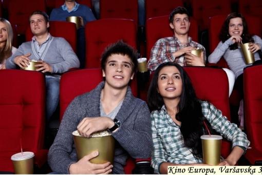 2 ulaznice za kino i 2 rakije po izboru za samo 25kn umjesto 70kn u Kinu Europa – najljepšoj i najstarijoj zagrebačkoj kinodvorani