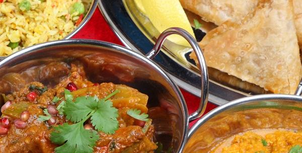 Indijski meni za dvoje u centru grada - piletina s povrćem