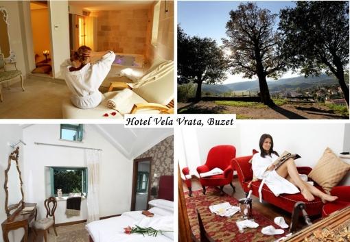 Četverodnevni odmor u hotelu Vela vrata u Buzetu
