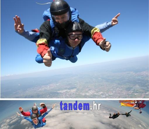 Skok s padobranom za 895kn umjesto 1.660kn
